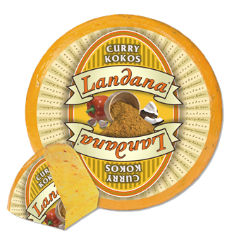 Landana CURRY-KOKOS kaas