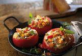 Gevulde chili tomaten