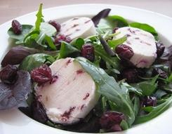 Geitenkaas-cranberrysalade